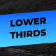 Lower Thirds Auto Self Resizing - VideoHive Item for Sale