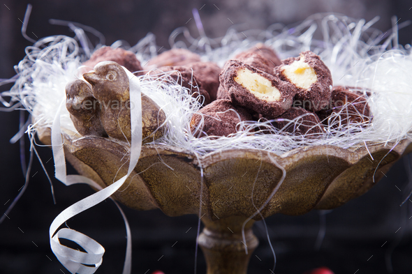 Christmas Cookies Truffle - Stock Photo - Images