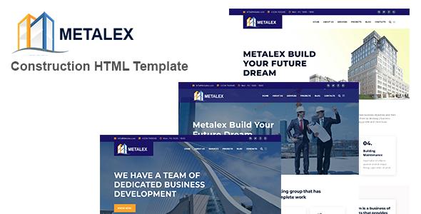 Metalex - Construction Business HTML Template