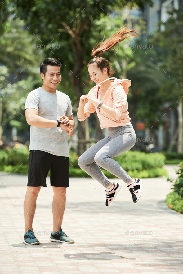 Training with coach - Stock Photo - Images