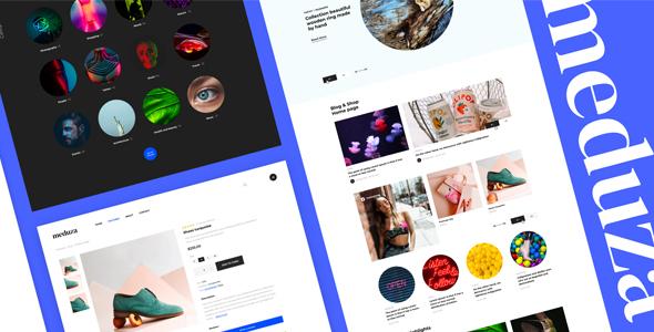 Meduza | Template For Blog & Shop by helloDigi