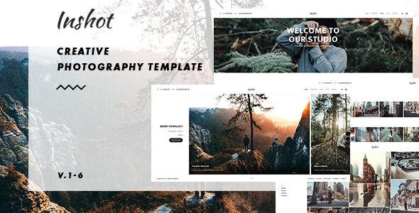 Inshot - Creative Responsive Photography  Portfolio by kwst