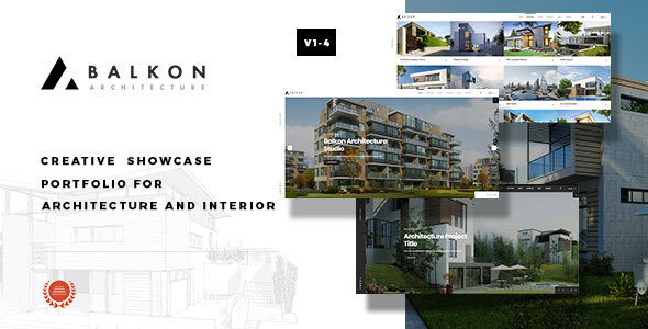 Balkon - Creative  Responsive  Architecture Template by kwst