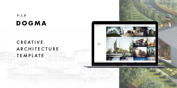 Dogma - Responsive Architecture Template by kwst