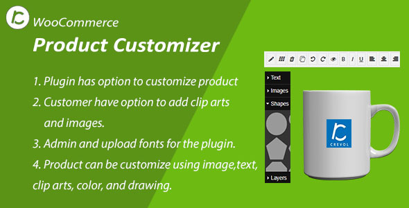WooCommerce Product Customizer nulled