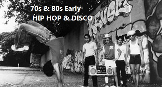 70s & 80s Early Hip Hop and Disco Grooves