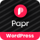 Papr | News Magazine WordPress Theme