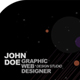 Dark Space Business Card - Round Corners - GraphicRiver Item for Sale