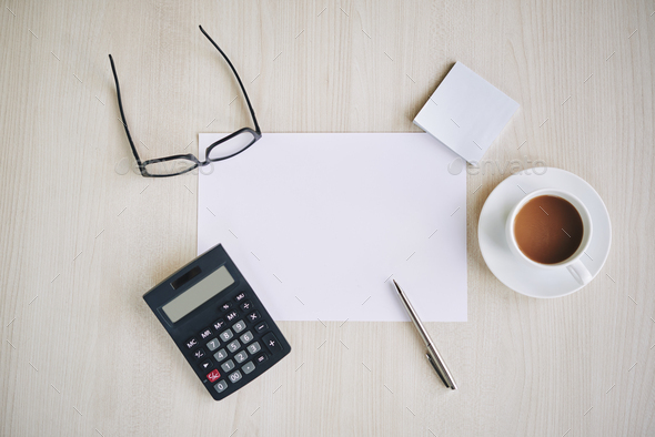 Table of entrepreneur - Stock Photo - Images