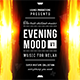 Chillout Lounge Evening Mood Music Cover Album Template