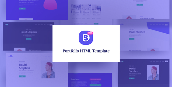 David Stephen - Portfolio HTML Template by coUI