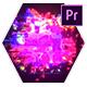 Glow Glitch Logo Reveal