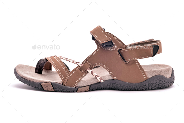 Casual hiking sandal - Stock Photo - Images