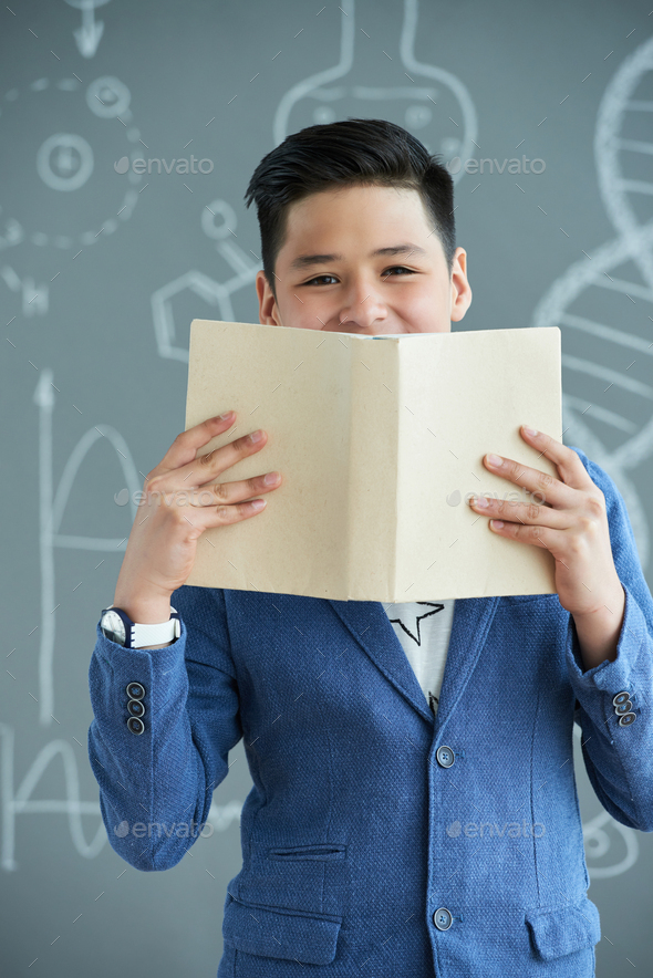 Happy smart student - Stock Photo - Images