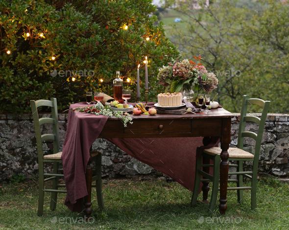 Italian Dessert Tiramisu Cake - Stock Photo - Images