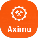 Free Download Axima - Factory and Industry WordPress Theme Nulled