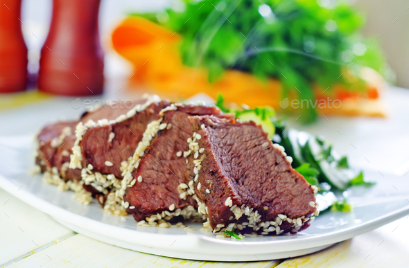 beef steak - Stock Photo - Images
