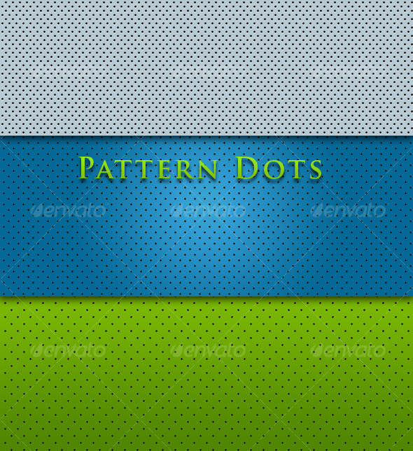 Plastic Dots - Patterns Backgrounds