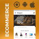 Ecommerce Android + iOS App Template (HTML + CSS files in IONIC 3) | Shopperz