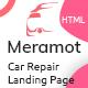Meramot - Car Repair and Servicing  HTML Template
