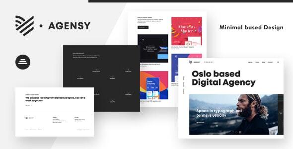 Agensy | Digital Lab & Creative Solutions Joomla Template