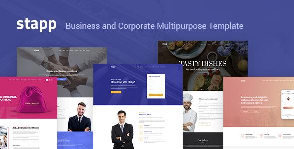 Stapp – Business Multipurpose Joomla Template
