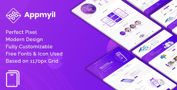 Appmyil - App Landing Joomla Template
