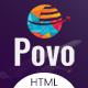 Povo - Travel Agency HTML Template