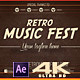 Retro Music Festival 2.1 - VideoHive Item for Sale