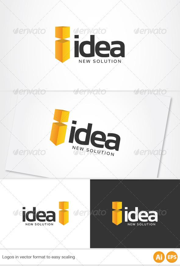 Idea Logo - Letters Logo Templates