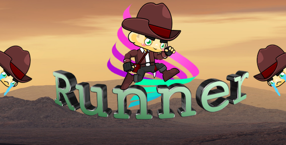 The Runner - Full iOS & Android game + in-app purchases