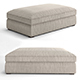 Belgian Coffee Ottoman by Restoration hardware