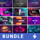 Electronic Music Party - Facebook Event Cover Templates Bundle 3