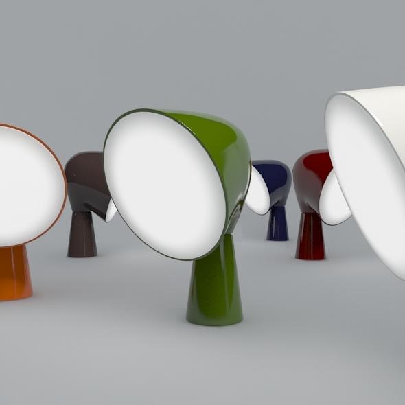 Binic Table Lamp - 3DOcean Item for Sale
