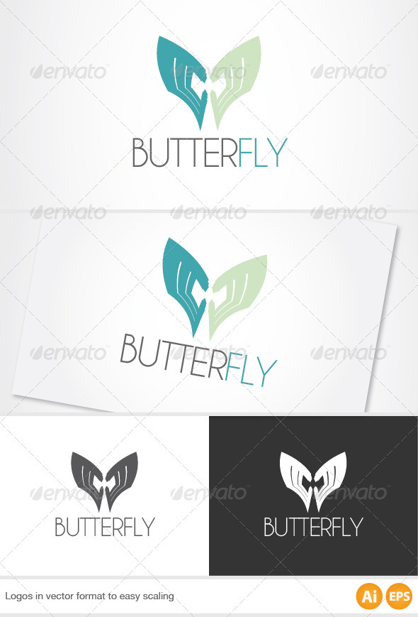 Butterfly Logo - Abstract Logo Templates