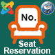 Advance Seat Reservation Management for Joomla Virtuemart
