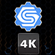 4K Hexagon Logo Opener - VideoHive Item for Sale