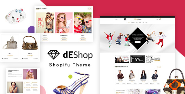 dEShop – Multipurpose eCommerce Shopify Theme