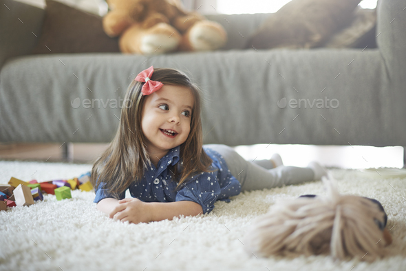 It's time for playing and I love it! - Stock Photo - Images