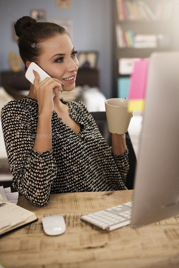 Work doesn't have to be boring - Stock Photo - Images