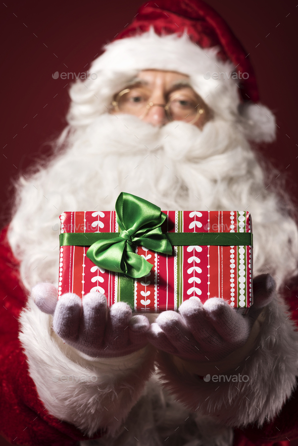 Is that a gift that you wanted? - Stock Photo - Images