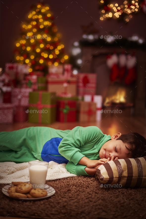When the Santa will come to me? - Stock Photo - Images