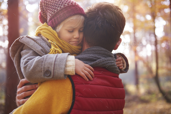 Love for father is never ending - Stock Photo - Images