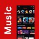 Modern Music Player App UI Kit | Musicvic