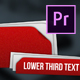 Flipping Pages Lower Thirds | MOGRT for Premiere Pro - VideoHive Item for Sale
