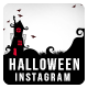 Halloween Sale Instagram Banner Set - 5 Designs