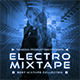 Electro Mixtape Electronic Music Album Cover Artwork Template