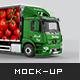 Mercedes Antos Truck Mockup