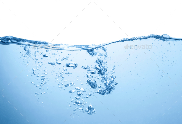 Blue water - Stock Photo - Images