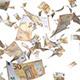 Euro Bills Falling - VideoHive Item for Sale